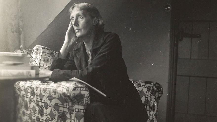Retrato de Virginia Woolf en su madurez. (DP).