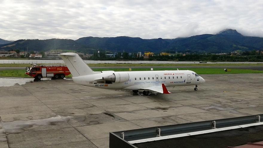 El tráfico de pasajeros del aeropuerto de San Sebastián crece un 2,8% hasta octubre