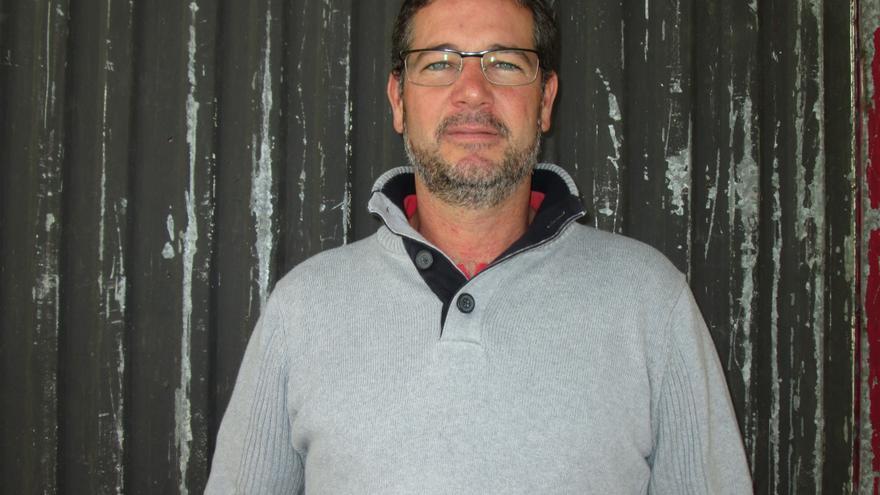 Jorge Hernández ha pasado de pequeño empresario a parado. Foto: LUZ RODRÍGUEZ