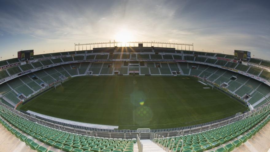Estadio Martínez Valero, feudo del Elche. Elche CF