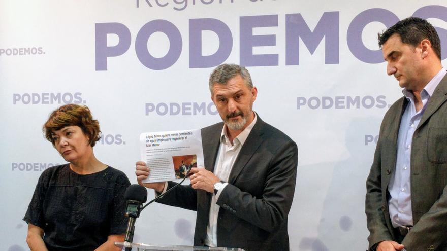 """Podemos: """"La gran amenaza que sufre el medioambiente en la Región es la política depredadora de López Miras"""""""
