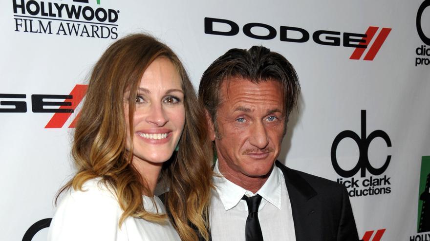 Julia Roberts y Sean Penn, en una imagen de archivo
