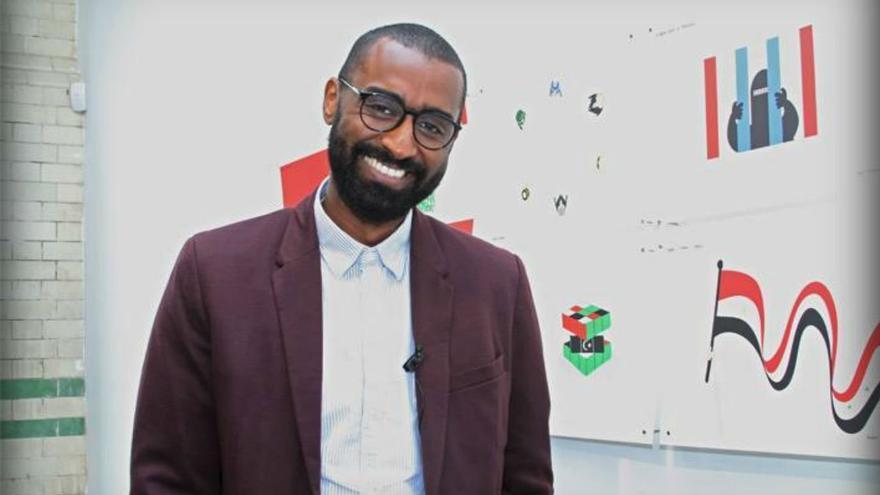 El humorista gráfico Khalid Albaih hablara de 'El humor en el Islam'