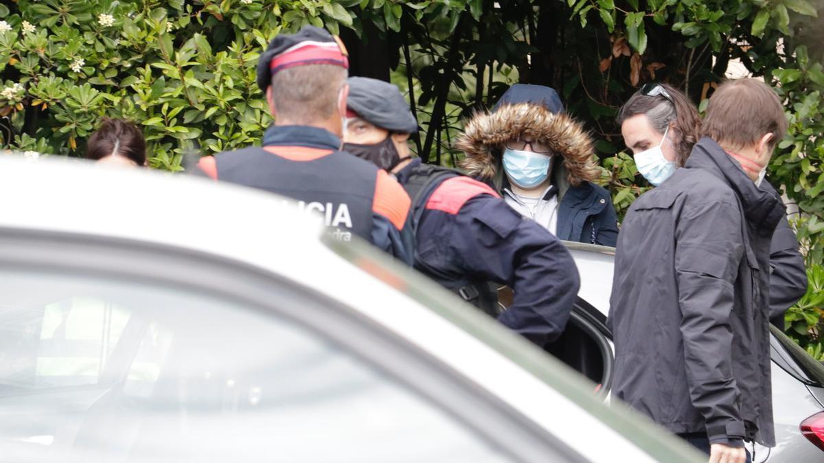 Uno de los detenidos en Girona