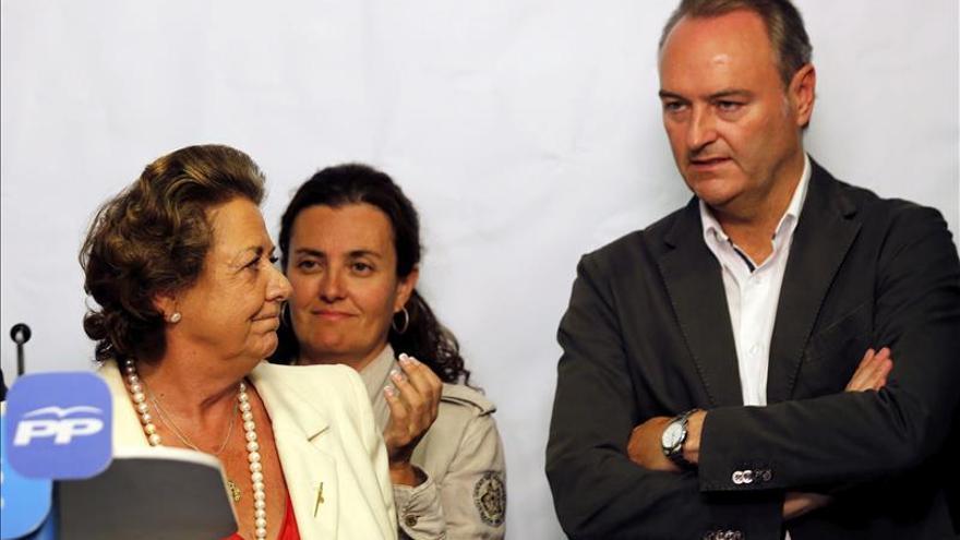 El PP designa como senadores territoriales a Alberto Fabra y Rita Barberá