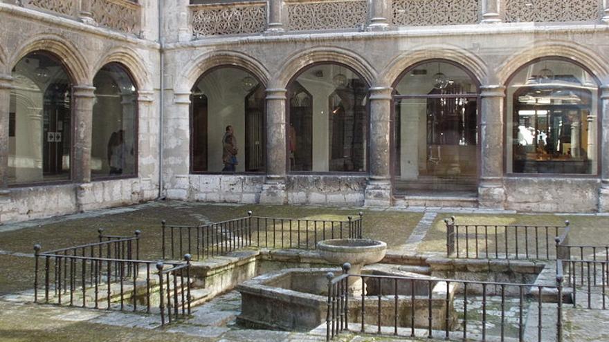 patio de Las Francesas, en Valladolid