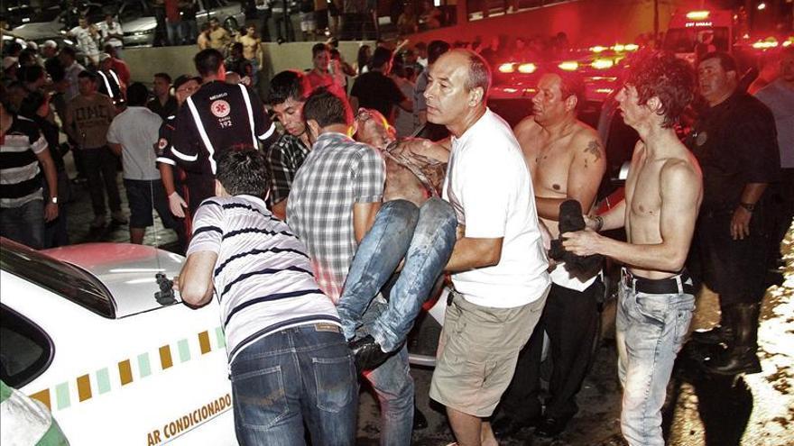 Rousseff llega a Santa María y se dirige de inmediato a un hospital