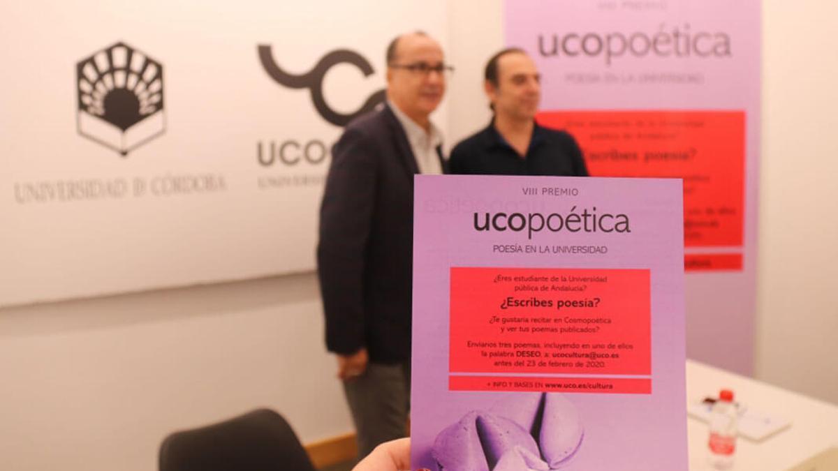 Presentación de una edición anterior de UCOpoética.