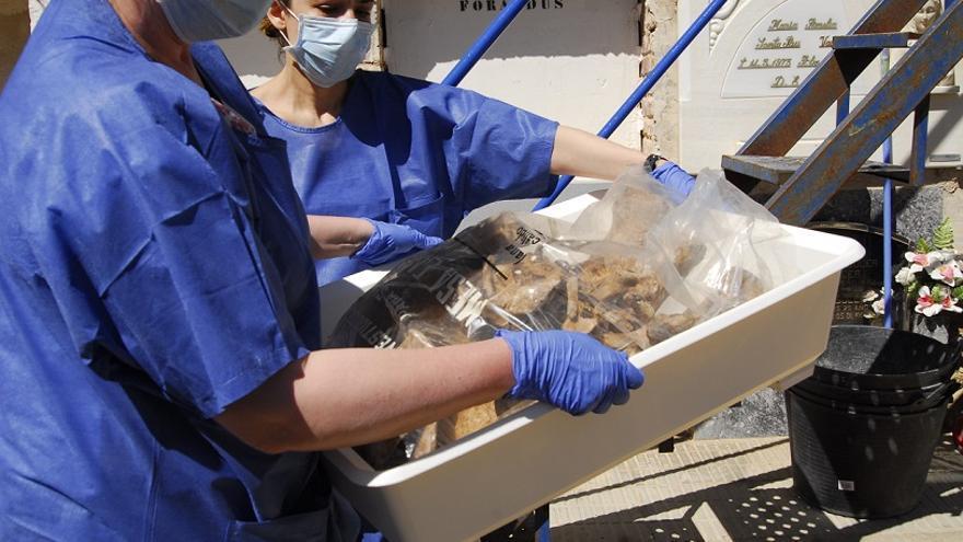 Les restes recuperades a Ontinyent són de víctimes afusellades en 1939