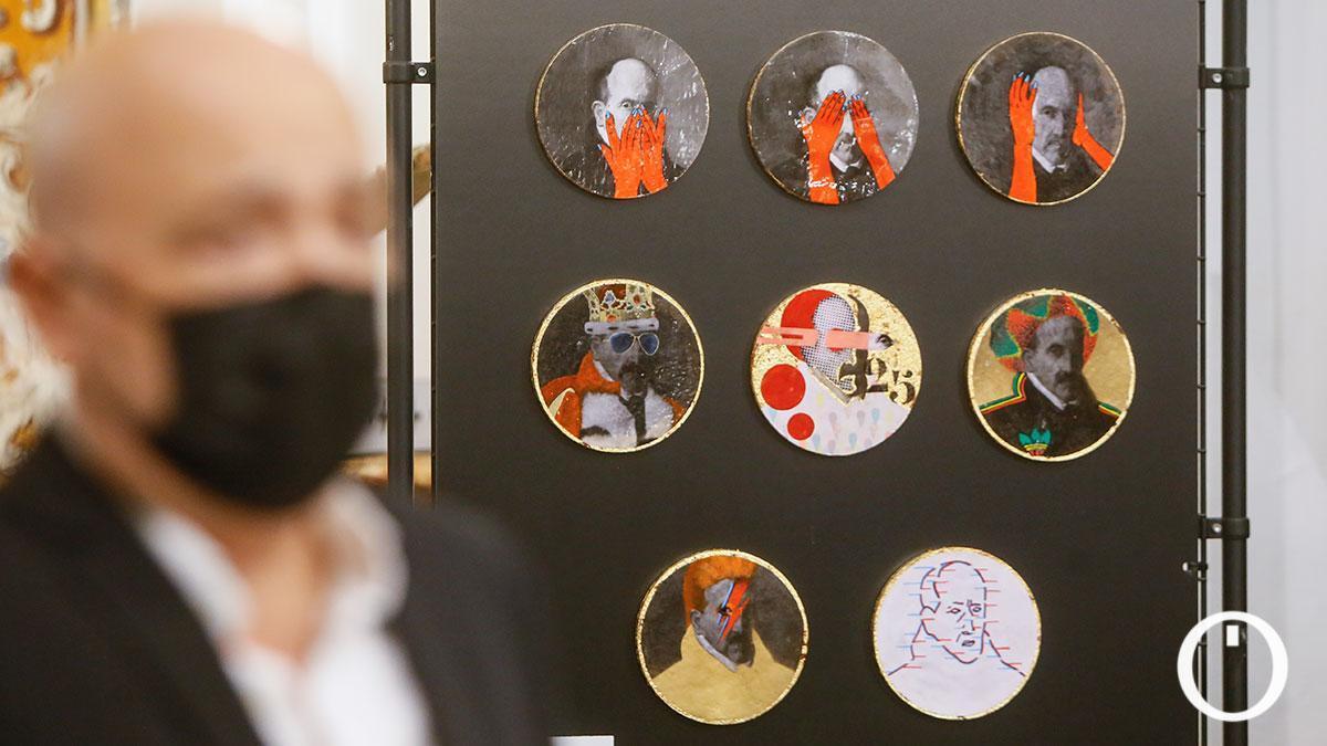 Exposición 'Las mil caras de Góngora' en la Capilla de la Asunción del Instituto Góngora