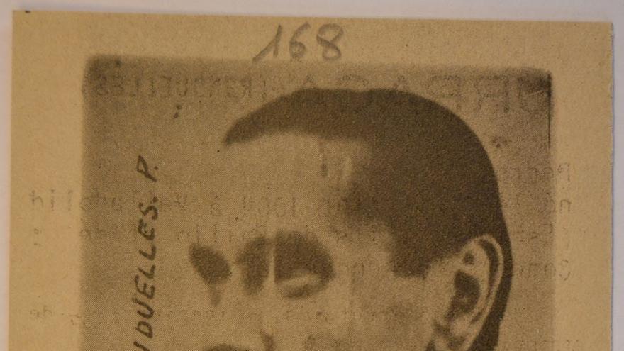 Foto de la ficha policial de Pedro Urraca Rendueles.