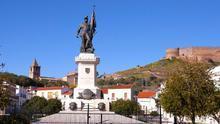 Estatua a Hernán Cortés en Medellín (Badajoz)