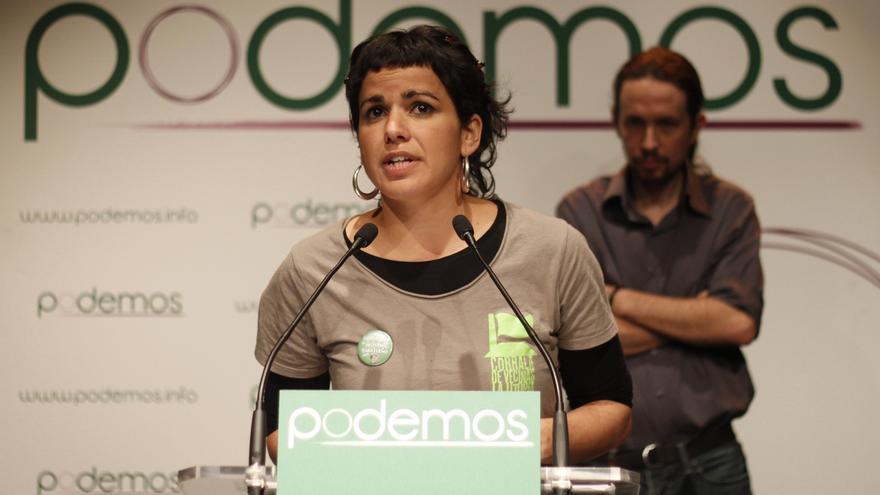 Rodríguez (Podemos) presenta su candidatura a las primarias andaluzas con 64 nombres y ocho cabezas de lista