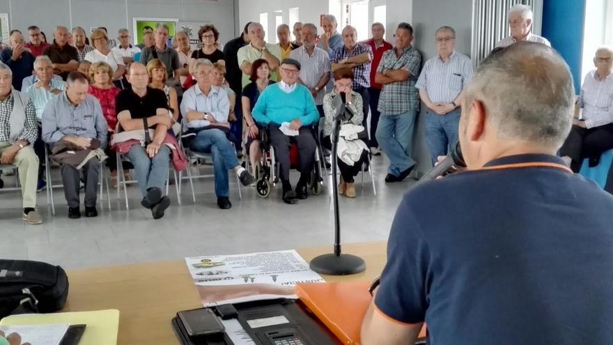 """Afectados por derribos ven """"muy negro"""" su futuro y piden más partidas en los presupuestos de 2018 y 2019"""