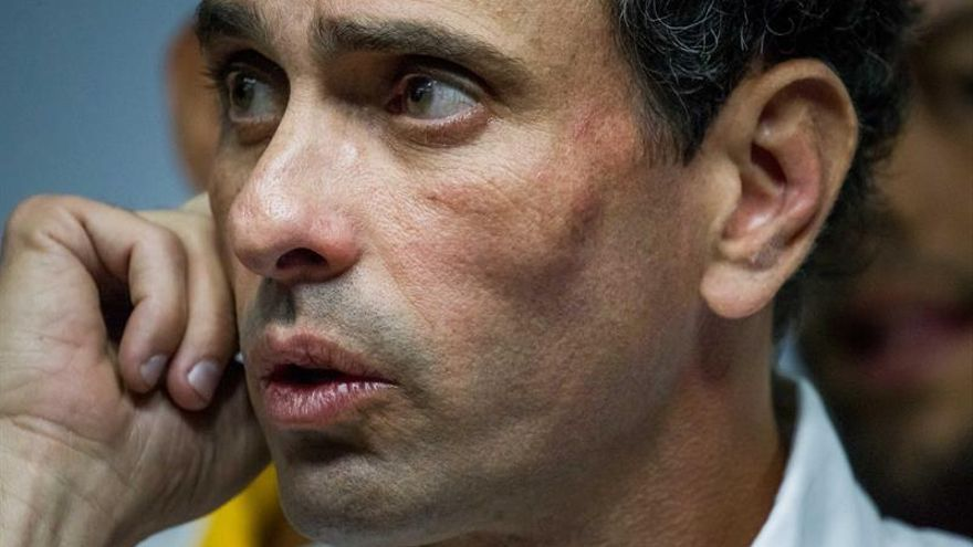 El Supremo ordena a Capriles evitar bloqueos en las protestas y amenaza con cárcel