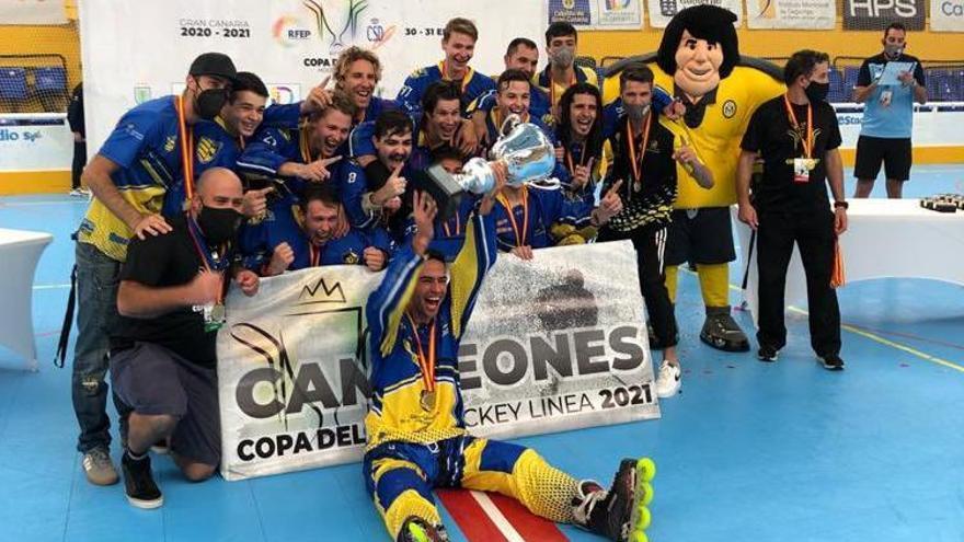 El Molina Sport Gran Canaria se proclama campeón de la Copa de SM El Rey 2021