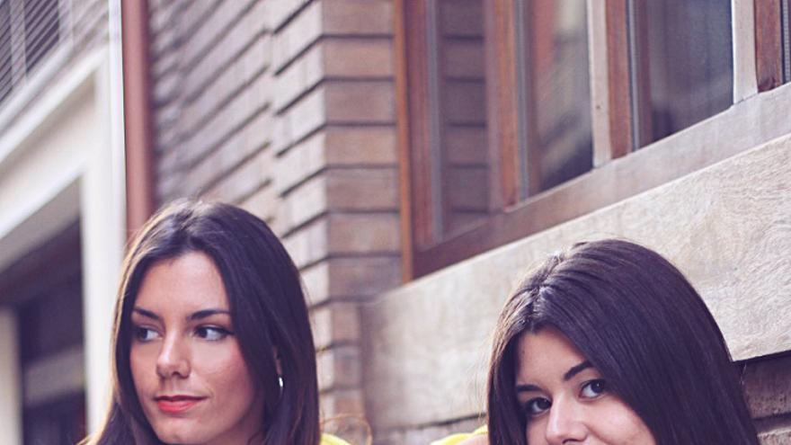 Las realizadoras Blanca Pérez de Tudela y Jeanette Conesa