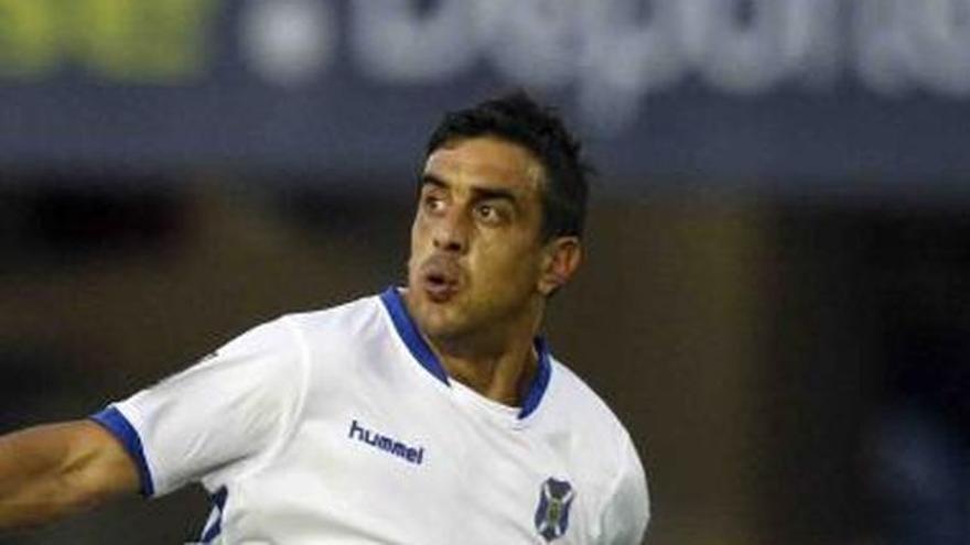 Diego Ifrán, máximo goleador del CD Tenerife