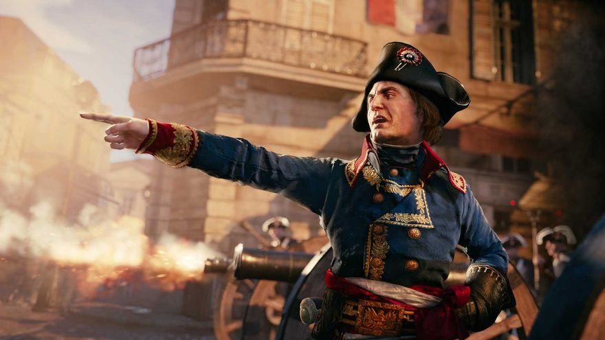 assassin´s creed unity napoleon bonaparte