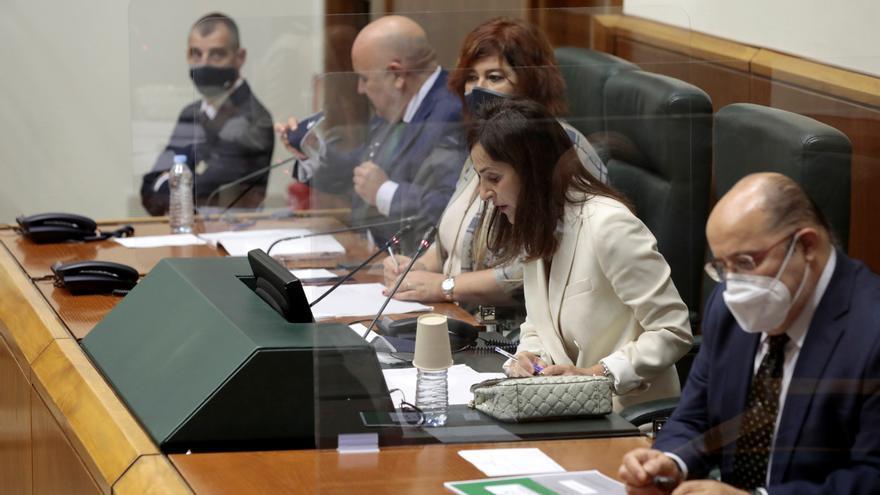 Tejeria asume que se podrá limitar el aforo en el Parlamento Vasco si la pandemia sigue expandiéndose