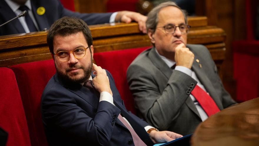 """Aragonès sobre la mesa de negociación: """"No se descarta que vaya Torra, pero tampoco es necesario"""""""