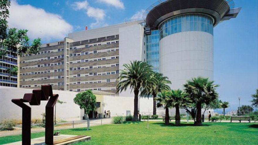El Hospital Universitario de Canarias, radicado en el término municipal de La Laguna.