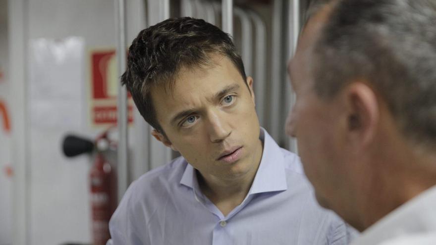 El candidato de Más País, Íñigo Errejón.