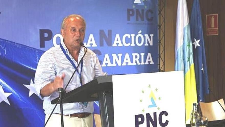 Juan Manuel García Ramos, diputado de CC-PNC y presidente del PNC