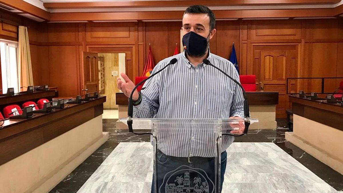 El concejal de Vox en el Ayuntamiento, Rafael Saco.