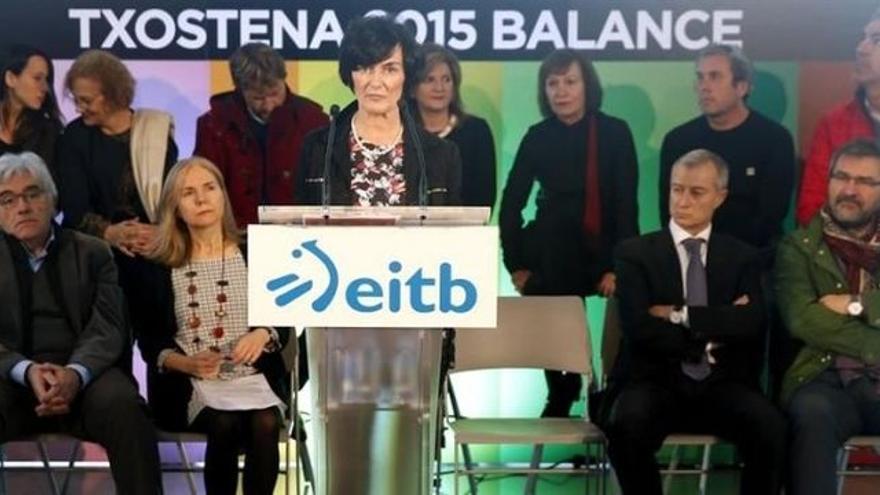 La directora de EITB, Maite Iturbe.