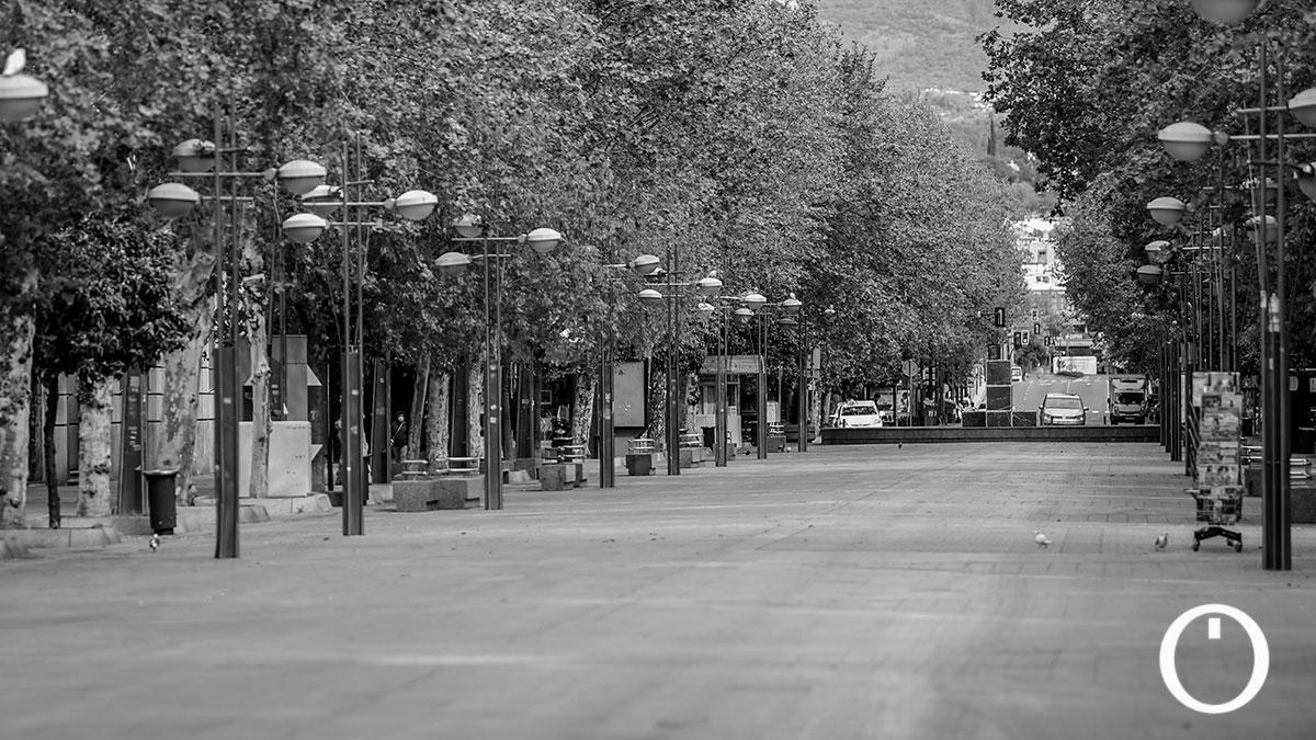 Un año del estado de alarma: así han cambiado las calles de Córdoba