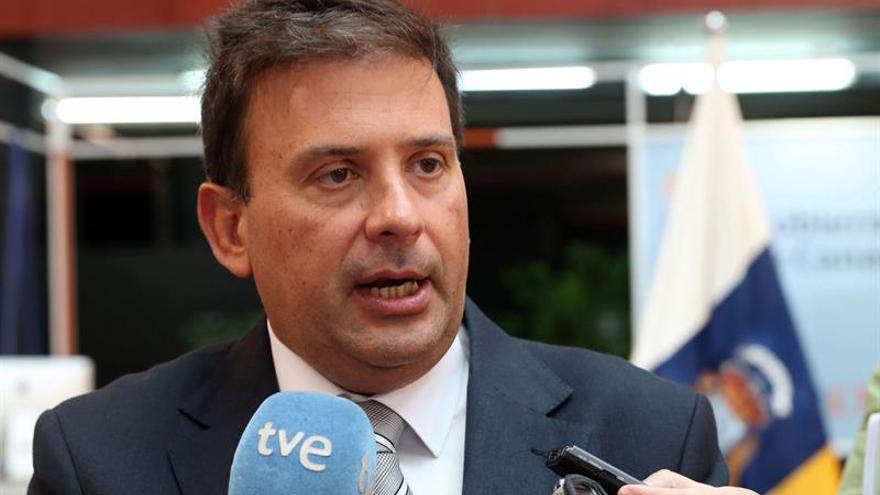 El presidente de la Autoridad Portuaria de Las Palmas, Luis Ibarra. EFE/Elvira Urquijo A.