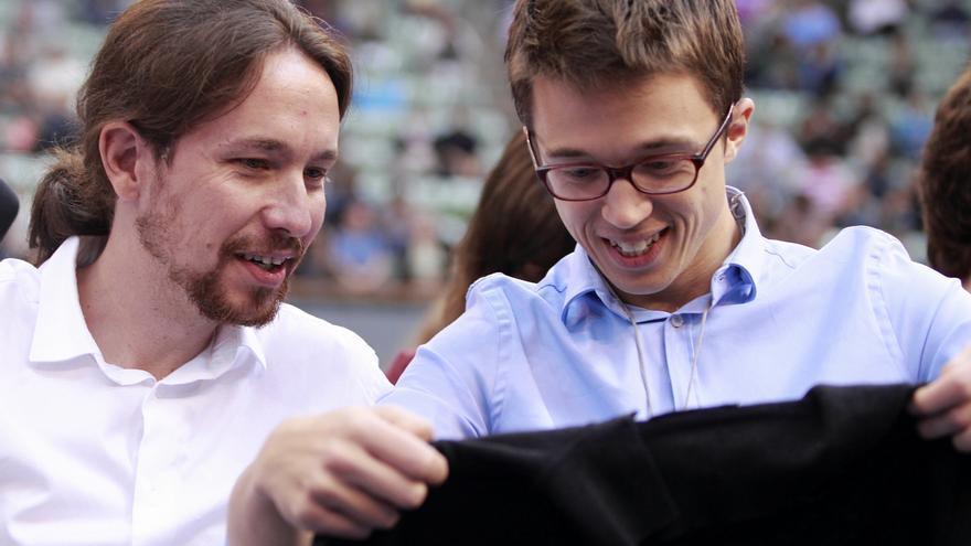 Iglesias y Errejón en Asamblea Podemos / Marta Jara