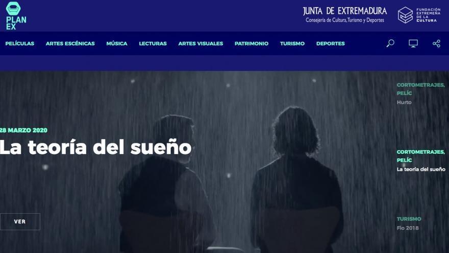 Cultura crea la web 'PlanExenCasa' para facilitar el acceso a la programación cultural extremeña durante la crisis del coronavirus