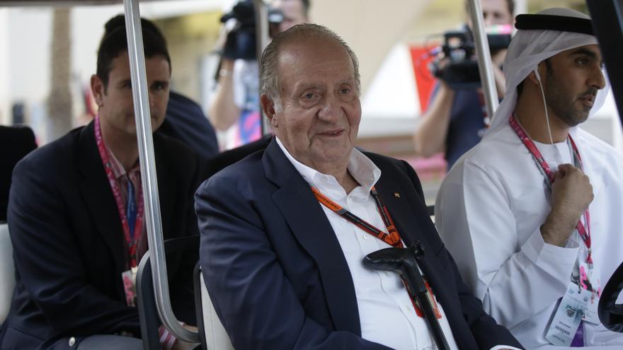 Juan Carlos I en Emiratos Árabes en una imagen de archivo.