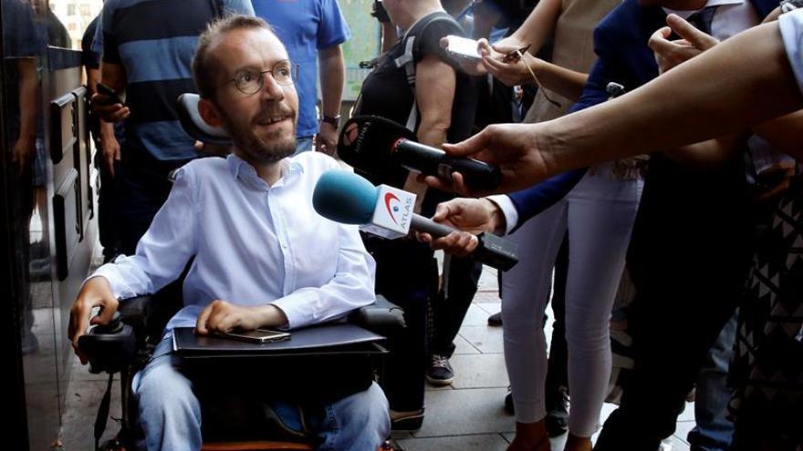 """Podemos no ha recibido propuestas del PSOE pero está """"dispuesto a hablar"""""""
