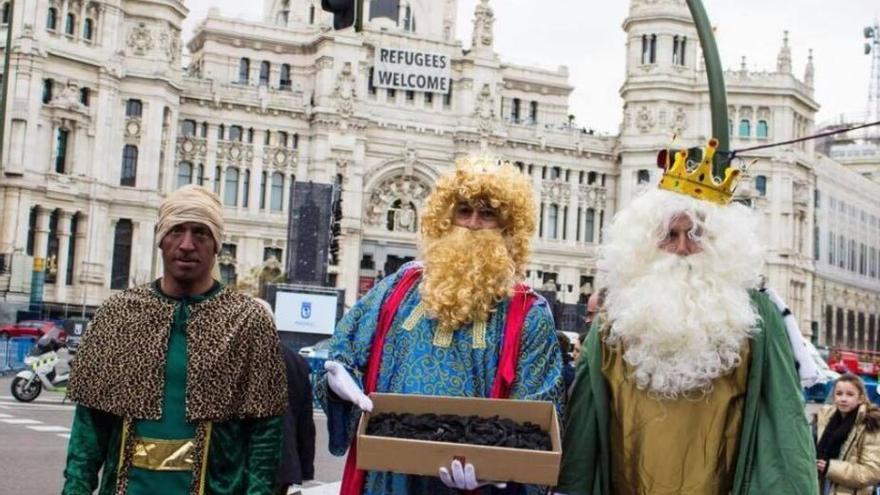 Reyes Magos de Hogar Social Madrid