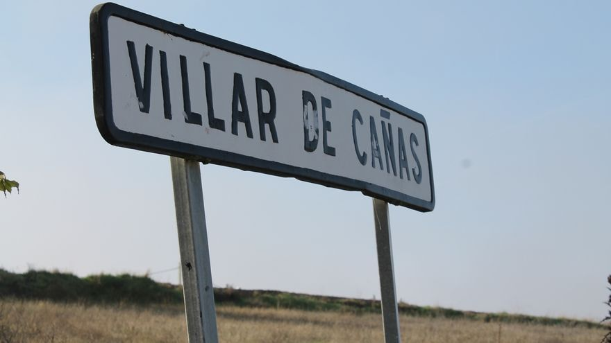 Acceso a Villar de Cañas (Cuenca). / Europa Press