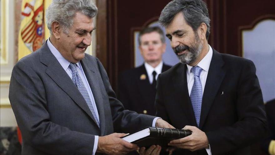 """El presidente del CGPJ dice que el 9N hubo """"algo parecido a una consulta"""" en Cataluña"""