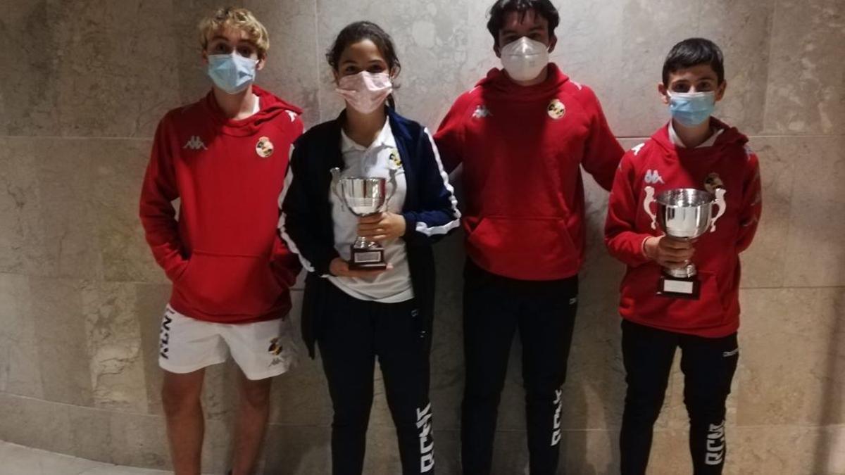 Integrantes del equipo del RCNT en Palencia.