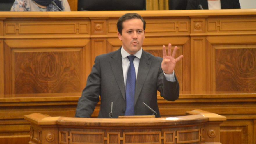 El PP defiende en las Cortes de Castilla-La Mancha la nueva Ley de Farmacia / Foto: Javier Robla