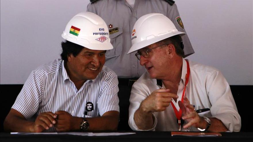 El presidente de Repsol viajará a Bolivia para anunciar la nueva producción de gas