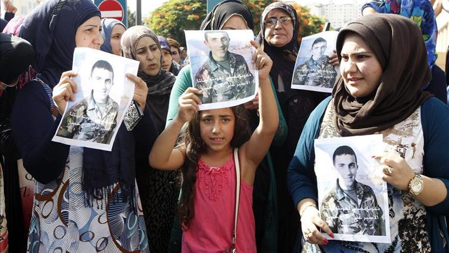 Liberados los militares libaneses secuestrados en agosto de 2014 por yihadistas