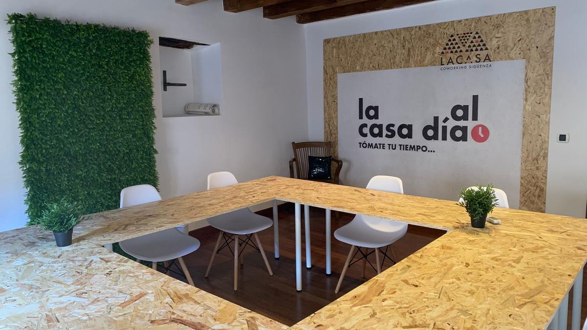 La Casa Coworking en Sigüenza