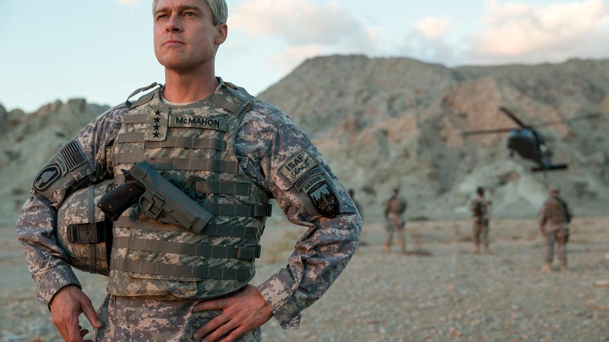 'Máquina de guerra' es una sátira sobre la desconexión estadounidense respecto a la realidad afgana