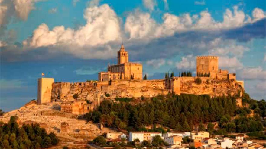 Conjunto Monumental de la Fortaleza de la Mota, en Alcalá la Real (Jaén)