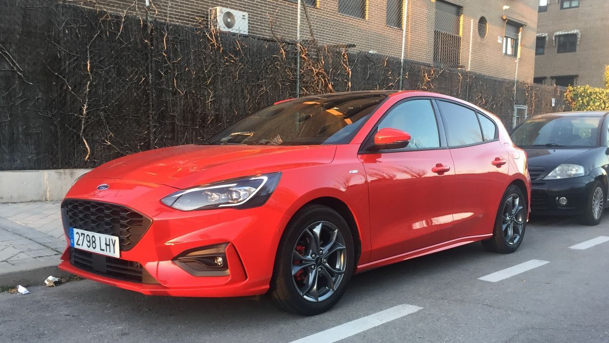 Ford Focus 1.0 EcoBoost MHEV.