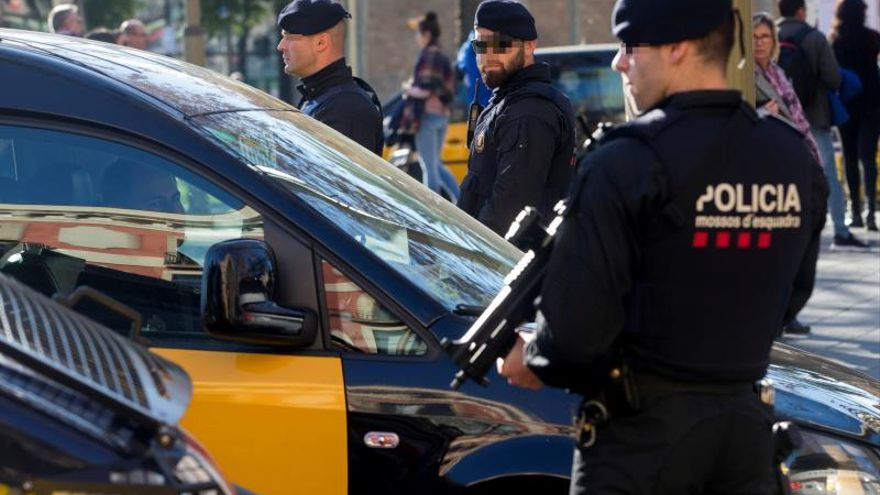 El militar francés detenido en la Sagrada Familia pasa a disposición judicial