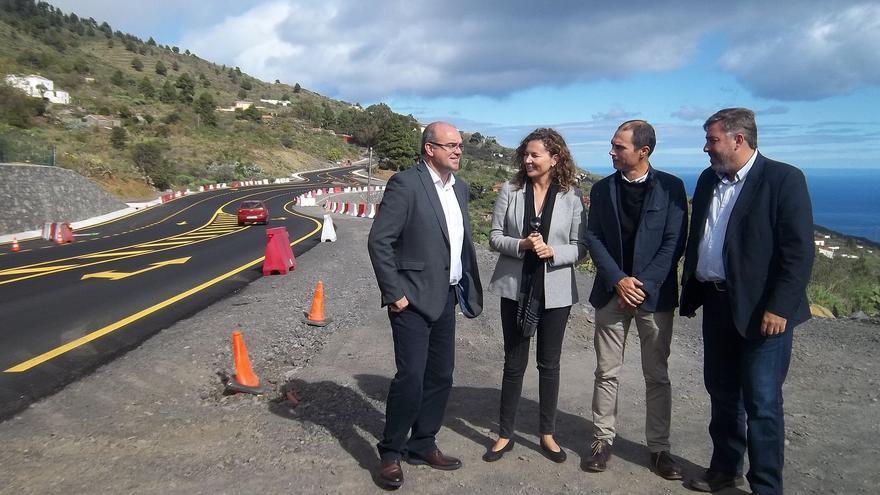 Ornella Cahcón visitó este viernes la carretera del sur.