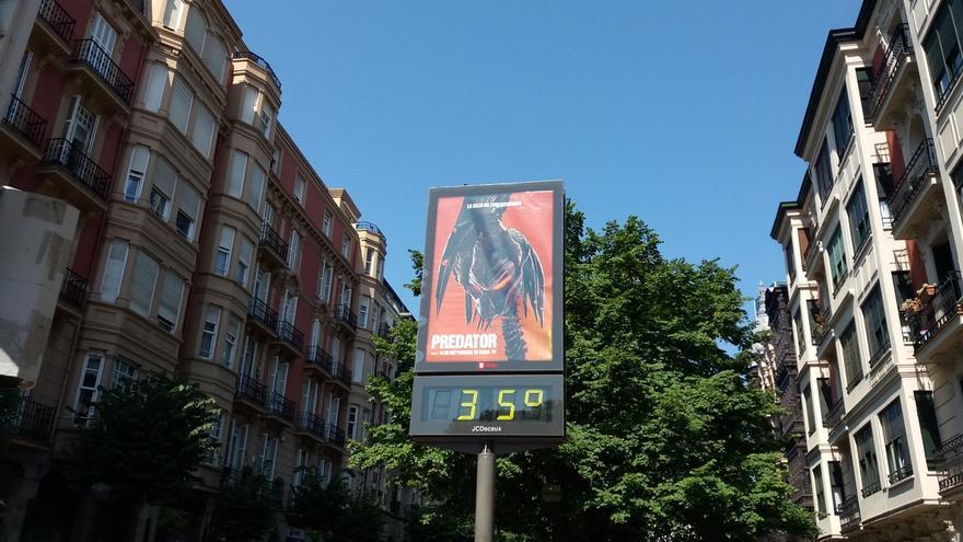 Navarra, en alerta este lunes por altas temperaturas que podrían alcanzar máximas de 40º